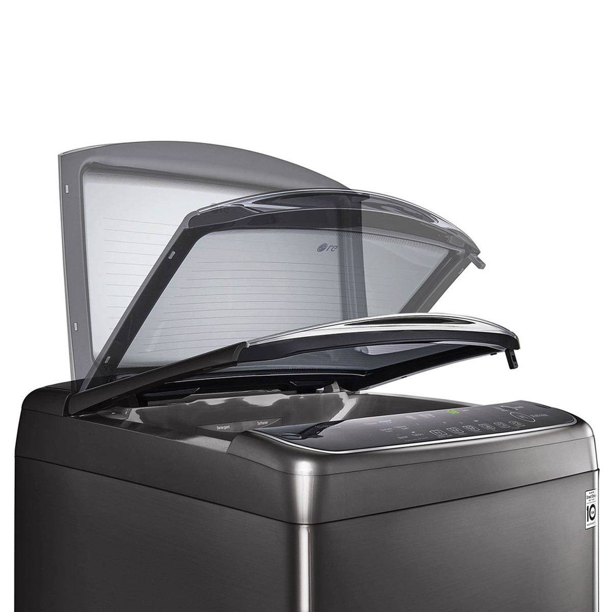 LG Top Load Washing Machine T1693EFHSKL 16KG, TurboWash3D™, Steam™, Auto Tub Clean