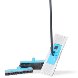 Smart Klean Broom + Airport Mop 90-BM4-PDQ Assorted Colors