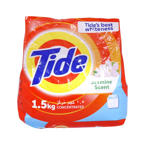 Tide Concentrated Washing Powder Top Load Jasmine 1.5kg