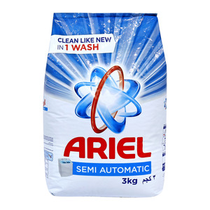 Ariel Semi Automatic Washing Powder Concentrated Regular 3kg