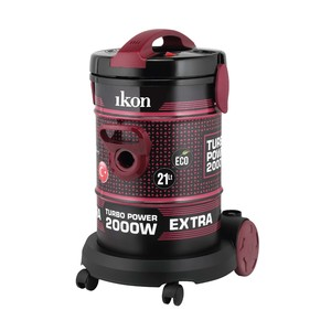 Ikon Drum Vacuum Cleaner IKTD601 2000W