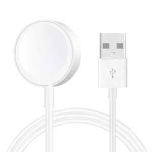 Iends Magnetic USB Charging Cable For iWatch, White AD401