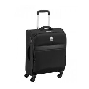 Delsey Oujda 4Wheel Soft Trolley 68cm Black