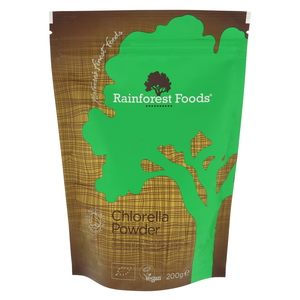 Rainforest Foods Organic Chlorella Powder 200g