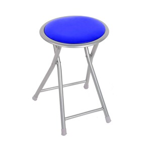 Maple Leaf  Folding Stool Blue BS-120-B