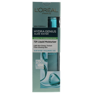 L'Oreal Paris Hydra Genius Aloe Water Normal To Combination Skin 70ml