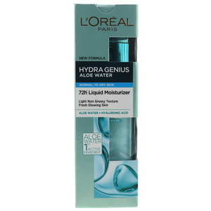 L'Oreal Paris Hydra Genius Aloe Water Normal To Dry Skin 70ml