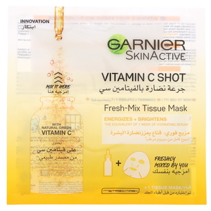 Garnier SkinActive Vitamin C Shot Fresh - Mix Tissue Mask 33g