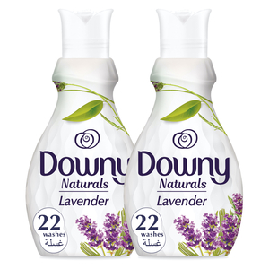 Downy Naturals Concentrate Fabric Softener Lavender Scent 2 x 880ml