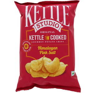 Kettle Studio Potato Chips Himalayan Pink Salt  125g