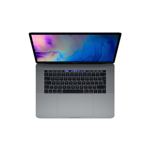 MacBook Pro Touch Bar With 15.4-Inch Retina Display, Core i7 Processor/16GB RAM/256GB SSD/4GB Radeon Pro 555X Graphics Card/Space Gray(MV902AB/A)