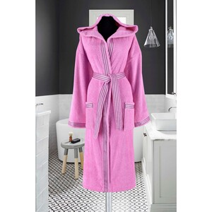 Cortigiani Bathrobe Cotton 001 Assorted Colors Made In Turkey