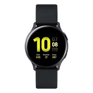 Samsung Galaxy Watch Active 2 SM-R830NZKAXSG Aluminium, 40 mm, Black