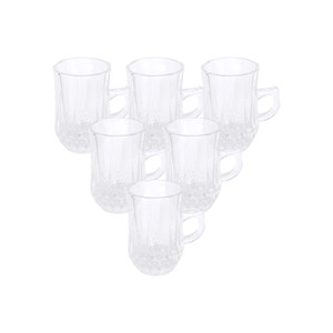 Crystal Drops Glass Istikan YJZB-24051 6pcs
