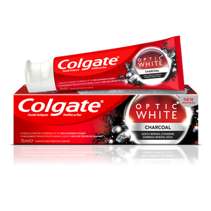 Colgate Toothpaste Optic White Charcoal 75ml