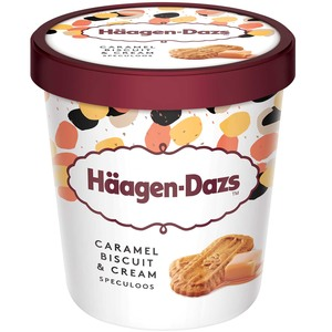 Haagen-Dazs Ice Cream Caramel Biscuit & Cream 460ml
