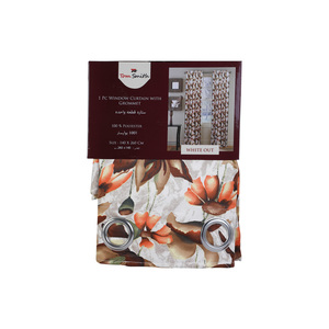 Tome Smith Window Curtain 140x260cm Assorted Colors & Designs