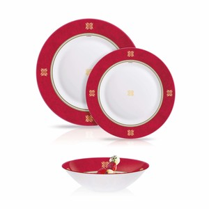 Luminarc Dinner Set Essence Neo Rubis Red 12pcs