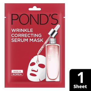 Ponds Face Mask Wrinkle correct Serum Mask 21ml
