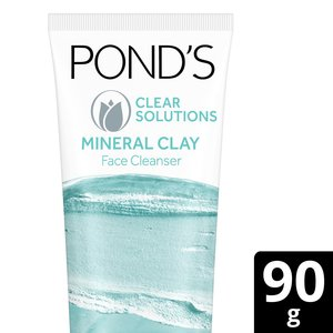 Ponds Face Wash Clear Solution Clay Foam 90g