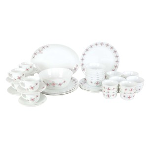 Cello Dinner Set Block Buster 50pcs