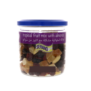 Serano Tropical Fruit Mix With Almonds 190g