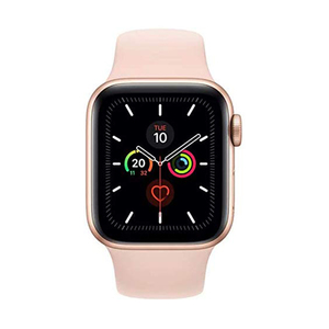 Apple Watch Series 5 GPS MWV72AE 40mm Gold Aluminium Case with Pink Sand Sport Band