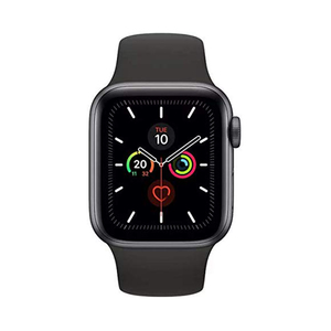 Apple Watch Series 5 GPS MWVF2AE 44mm Space Grey Aluminium Case with Black Sport Band