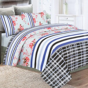 Tom Smith Bed Sheet Queen 1pc Assorted Colors & Designs