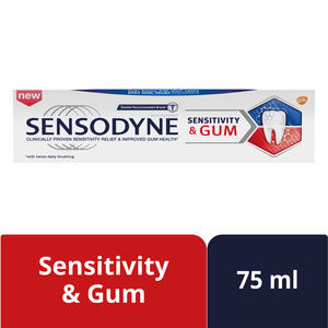 Sensodyne Sensitivity And Gum Toothpaste 75ml