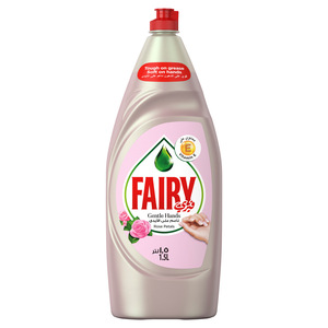 Fairy Gentle Hands Rose Petals Dishwash Liquid 1.5Litre