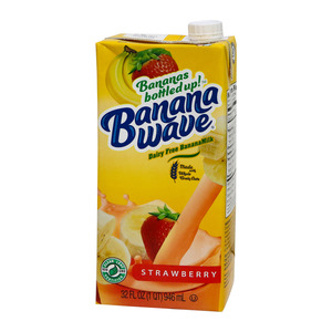 Banana Wave Banana Milk Strawberry 946ml