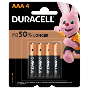 Duracell AAA Battery 4pcs