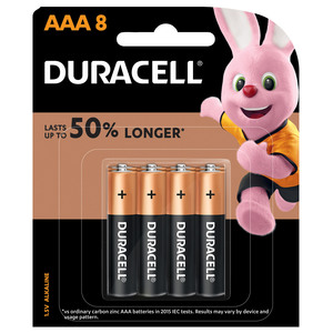 Duracell AAA Battery 8pcs