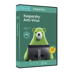 Kaspersky Antivirus 2020,1 Device + 1 User – 1 Year