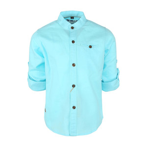 Ruff Boys Linen Shirt Turn-Up Sleeve SB-04325L