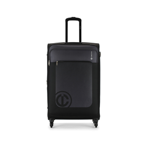 Carlton Morgan 4Wheel Soft Trolley 67cm Black