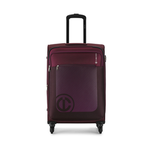 Carlton Morgan 4Wheel Soft Trolley 55cm Beet