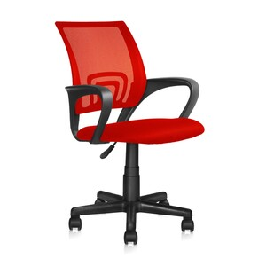 Maple Leaf Office Chair QZY-1121-B5 Red