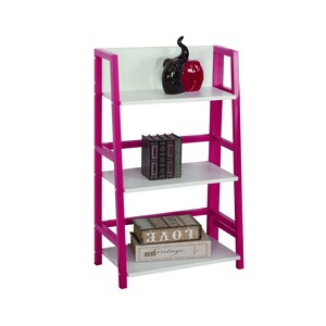 Maple Leaf Home  Book Shelf 3Layr BS1612 Pink Size: W53xD32xH89cm