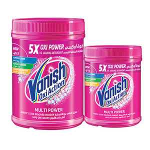 Vanish Oxi Action Multi Power Stain Remover 1kg +  500ml