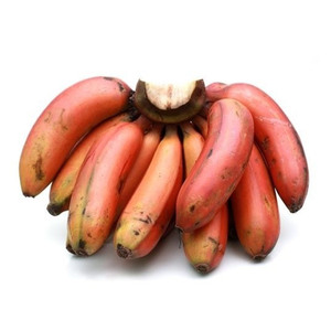 Banana Red Poovan India 1kg Approx. Weight