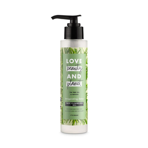 Love Beauty and Planet Face Cleansing Gel Invigorating Detox Tea Tree Oil & Vetiver 125ml