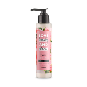 Love Beauty and Planet Face Scrub Petal Polish Murumuru Butter & Rose 125ml