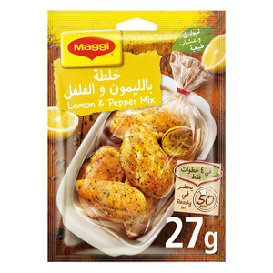 Maggi Lemmon & Pepper Seasoning Mix 27g