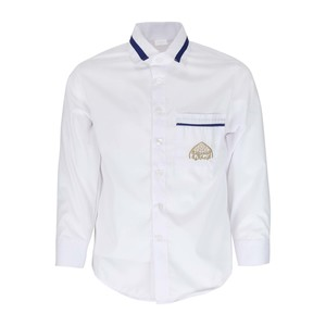 Emirates School Uniform Boys Formal Shirt Long Sleeve Cycle1 11-12 Y