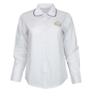 Emirates School Uniform Girls Formal Shirt Long Sleeve Cycle2 13-14 Y