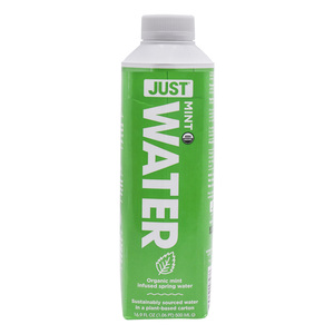 Just Water Organic Mint Spring Water 500ml