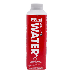 Just Water Organic Cherry Spring Water 500ml