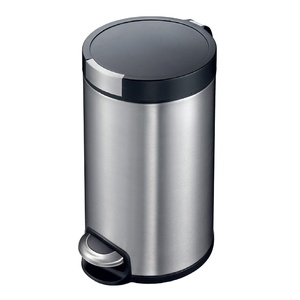 Eko Stainless Steel Step Bin ALEK 8Ltr